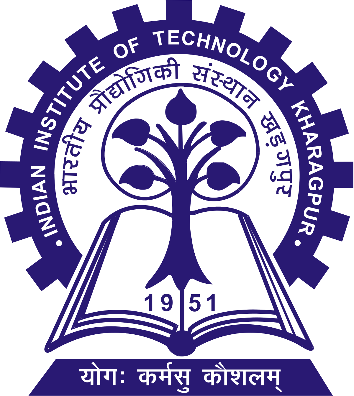 Educational vector technical education. Indian institute of technology