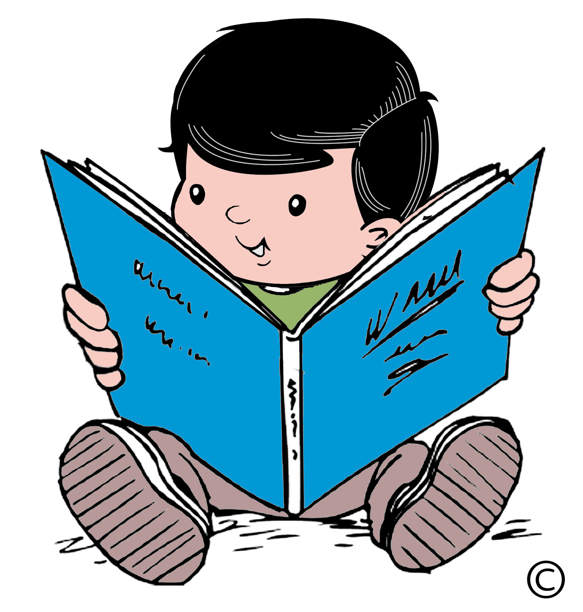 Readying. Best reading clipart clipartion