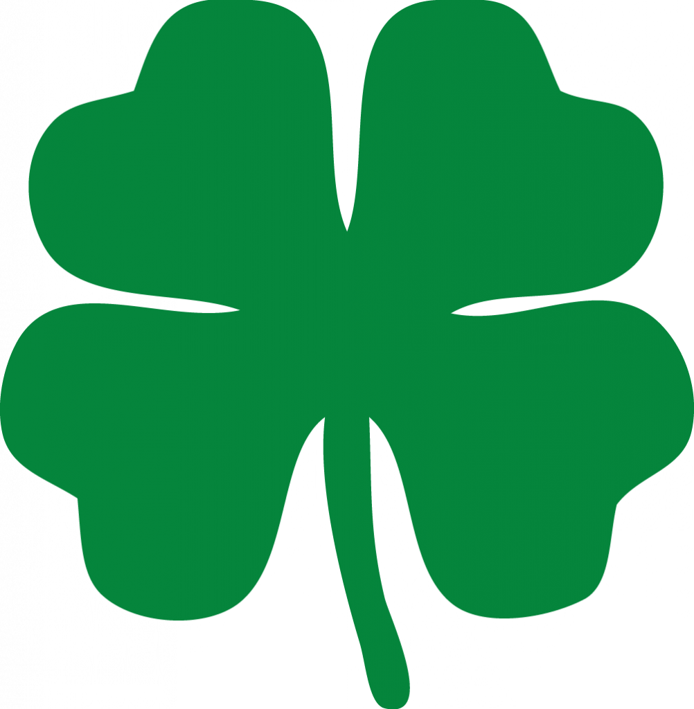 Real 4 leaf clover png. Willpower printable special pictures