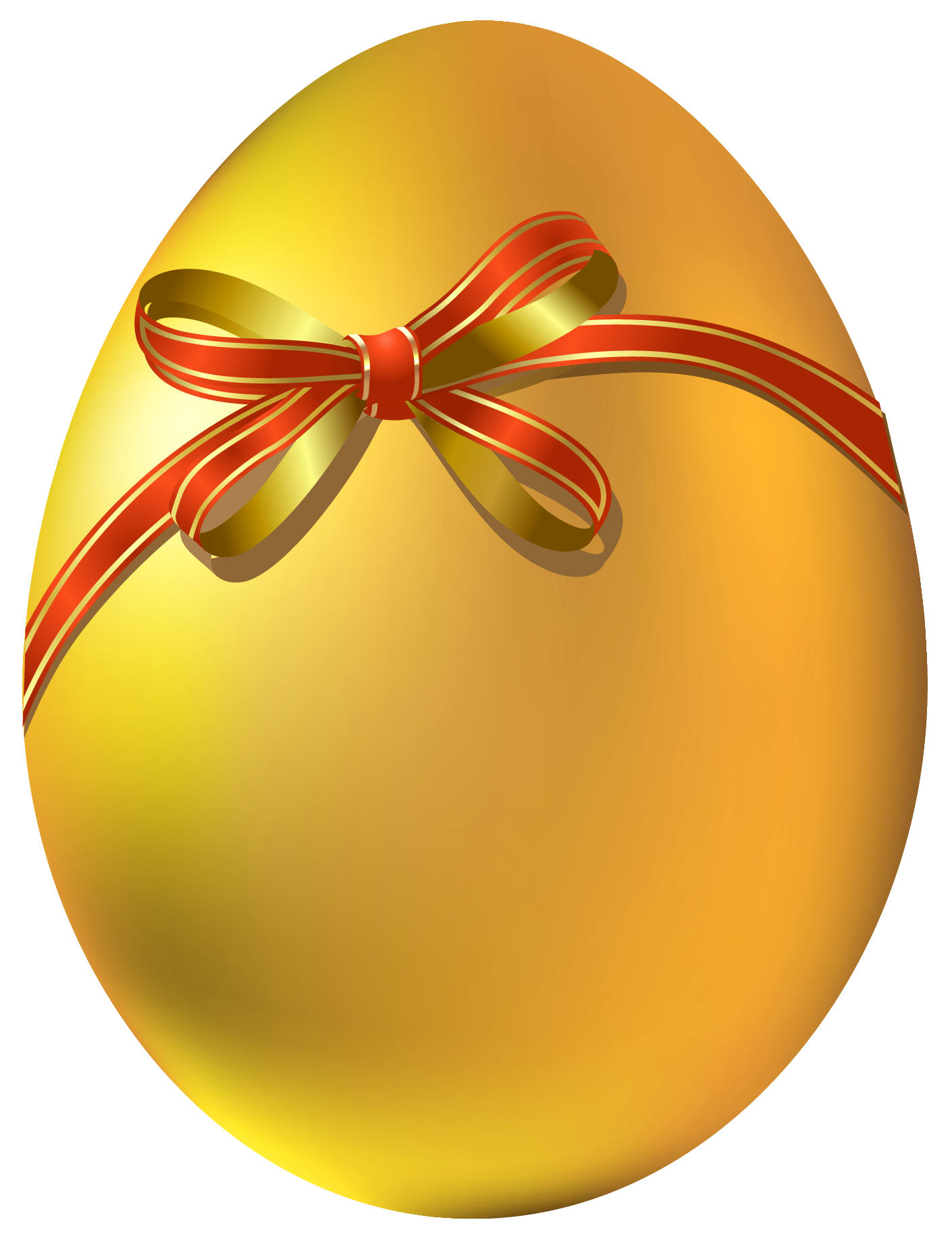 Real easter eggs png. Gold egg with red