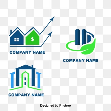 Real estate clipart 3d building logo. Png vectors psd and