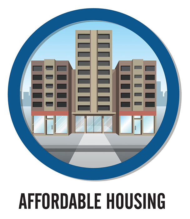 Real estate clipart affordable housing.