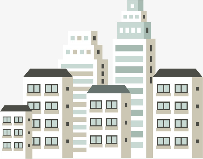 Real estate clipart large building. White cartoon mansion png