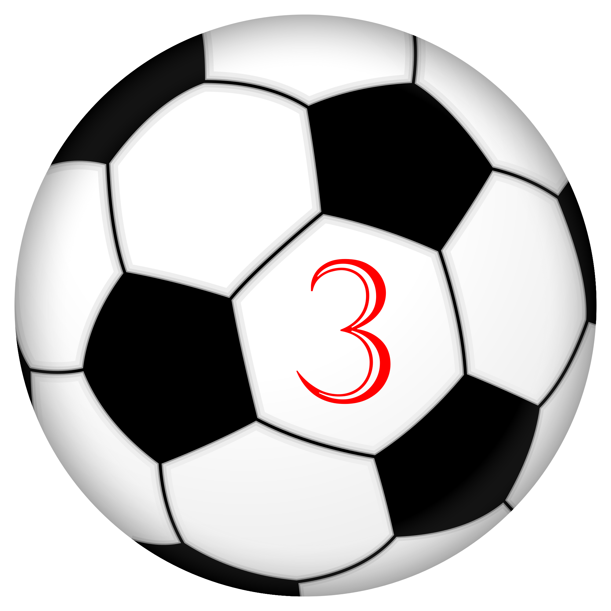 Real football png. File soccer ball number