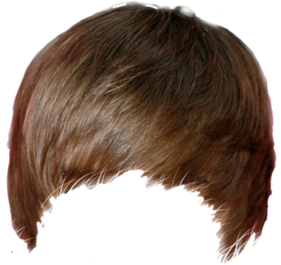 Real hair png. Boy haircut lovely part