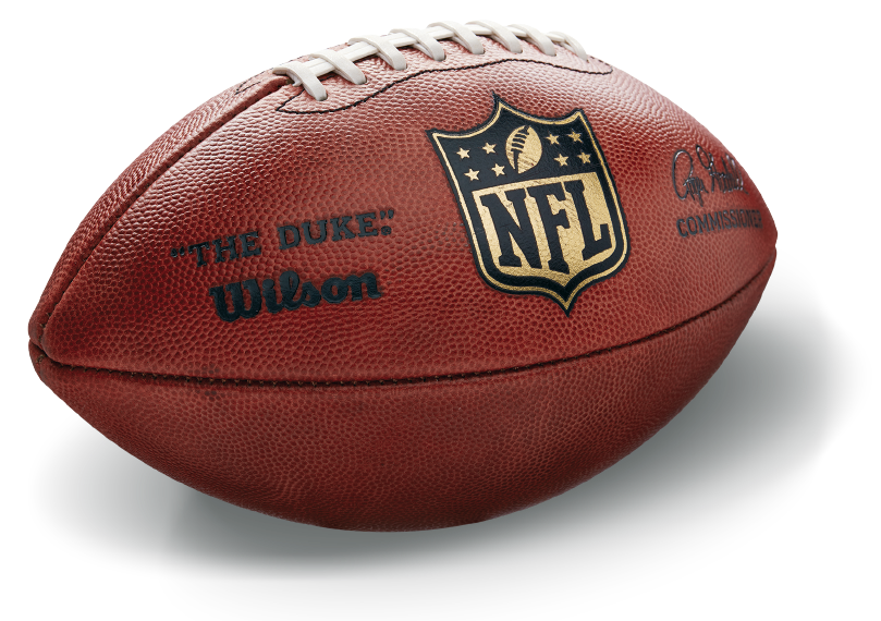 Real nfl football png. Wilson the since official