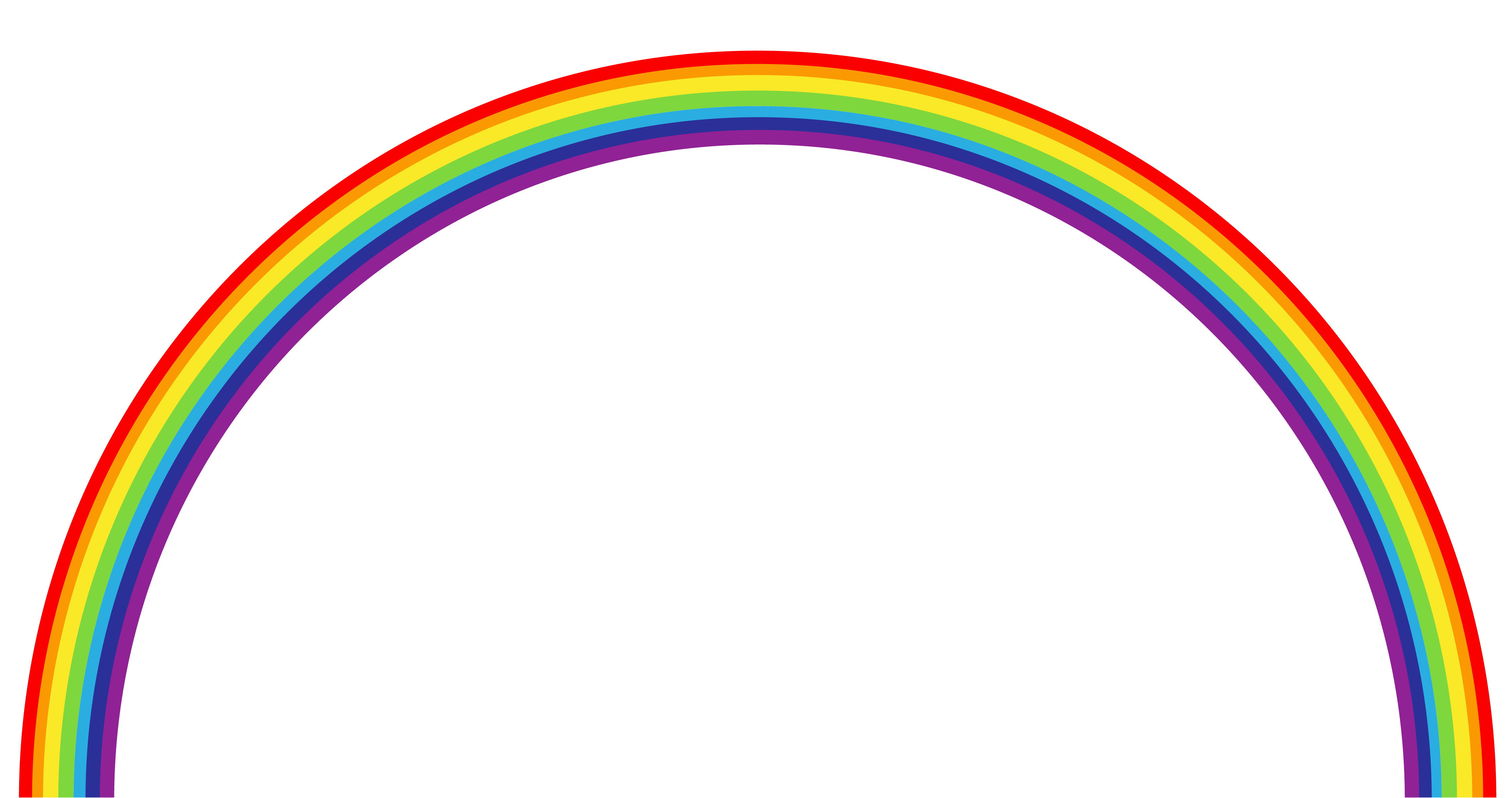 Real rainbow png. Transparent clipart gallery yopriceville