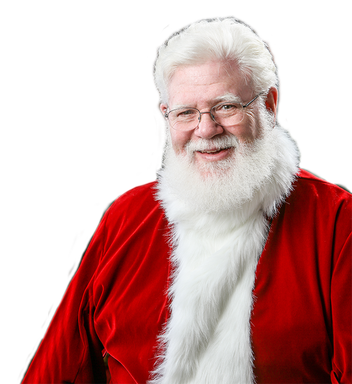 Real santa png. Hire bearded for in