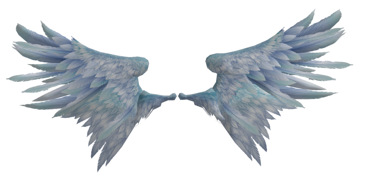 Realistic angel wings png. Poseable by oo fil