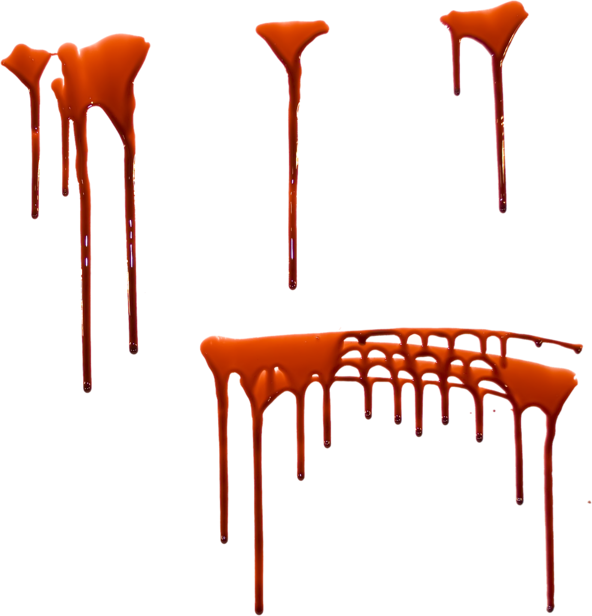 Realistic blood dripping png. Images free download splashes