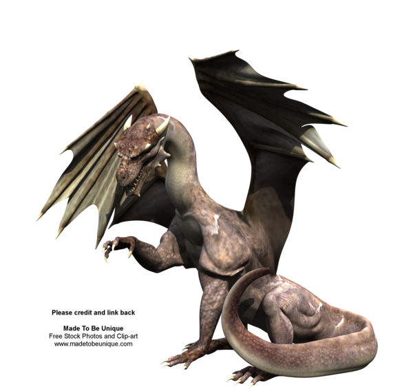 Realistic dragon png. Awesome free stock by