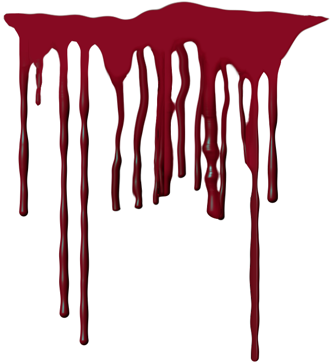 Realistic dripping blood png. Images free download splashes