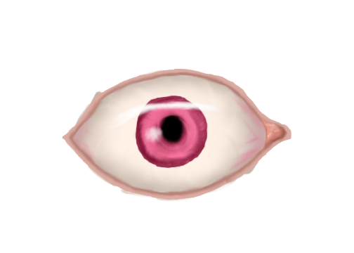 Realistic eye png. Practice by goober on