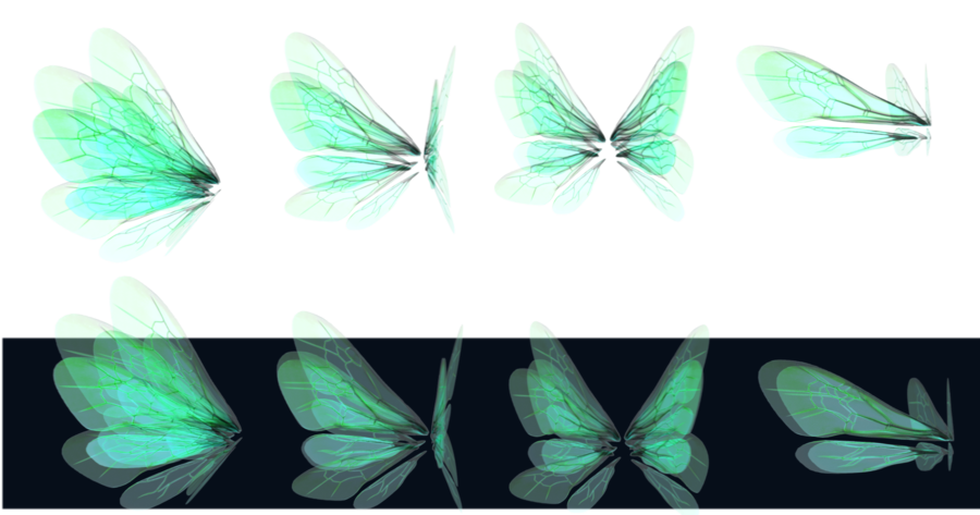 Realistic fairy wings png. Glowing by mysticmorning on