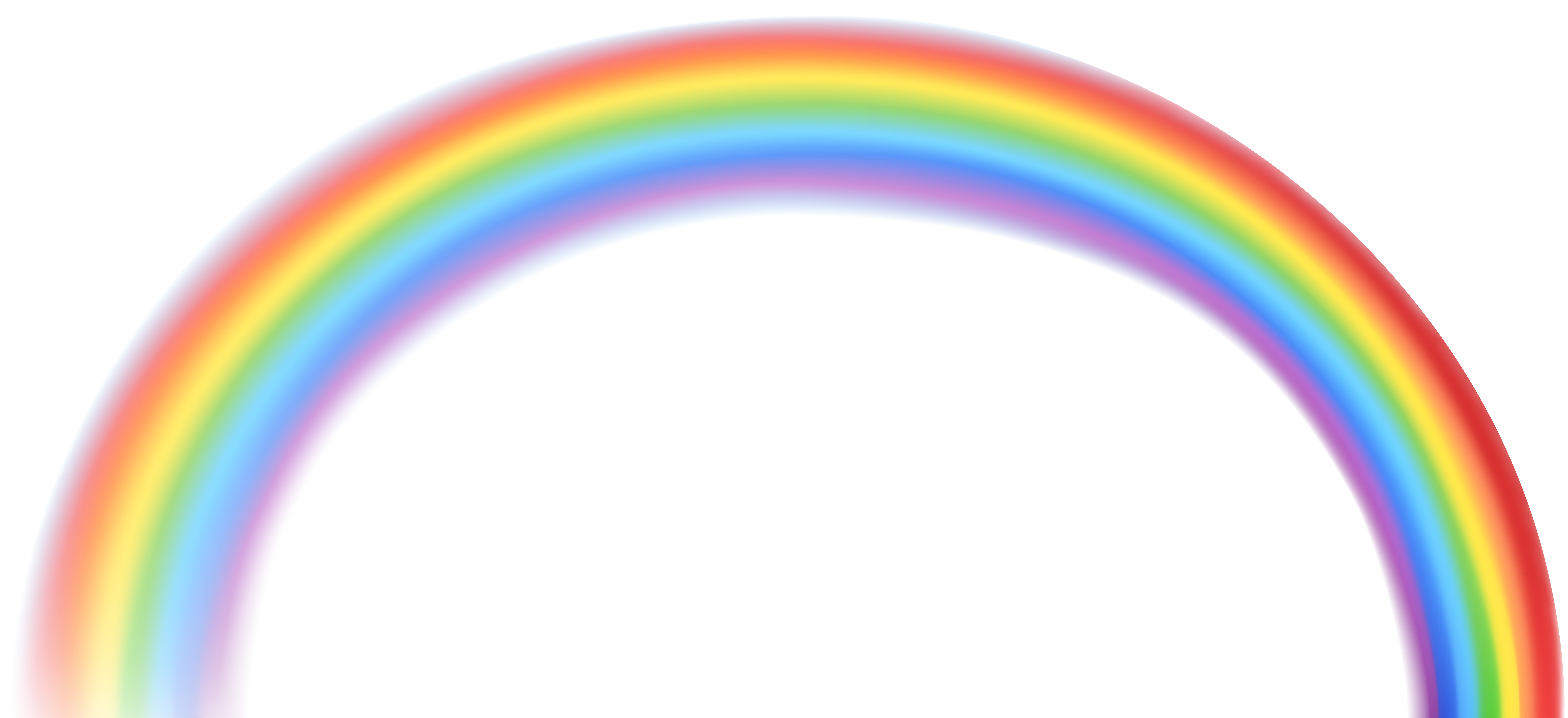Realistic rainbow png. Collection of clipart