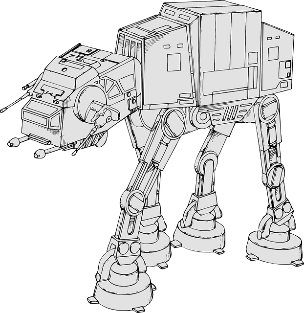 Rebel drawing star wars. Original trilogy atat