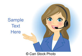 And stock illustrations vector. Receptionist clipart graphic freeuse