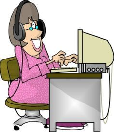 Receptionist clipart medical transcriptionist. Working from home summed