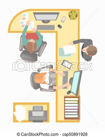 Manager secretary reception work. Receptionist clipart office supervisor clipart