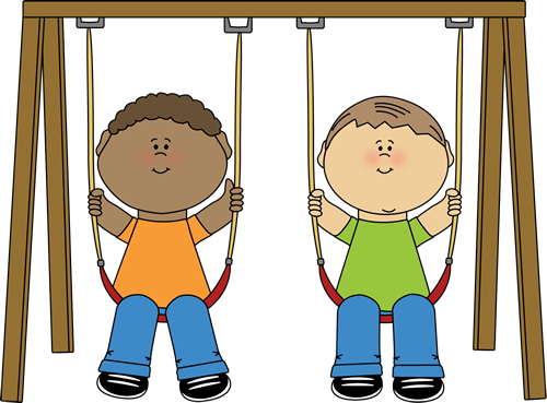 Stretching clipart everyday. Recess playground clip art