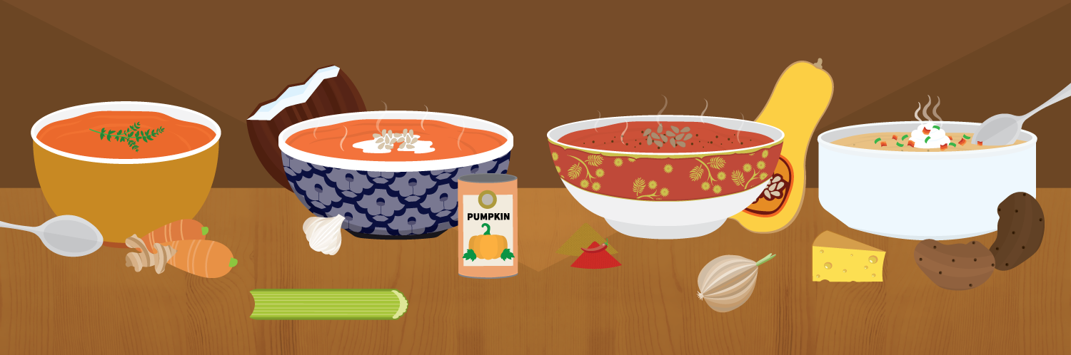 Recipe clipart warm soup. Harvest recipes for fall