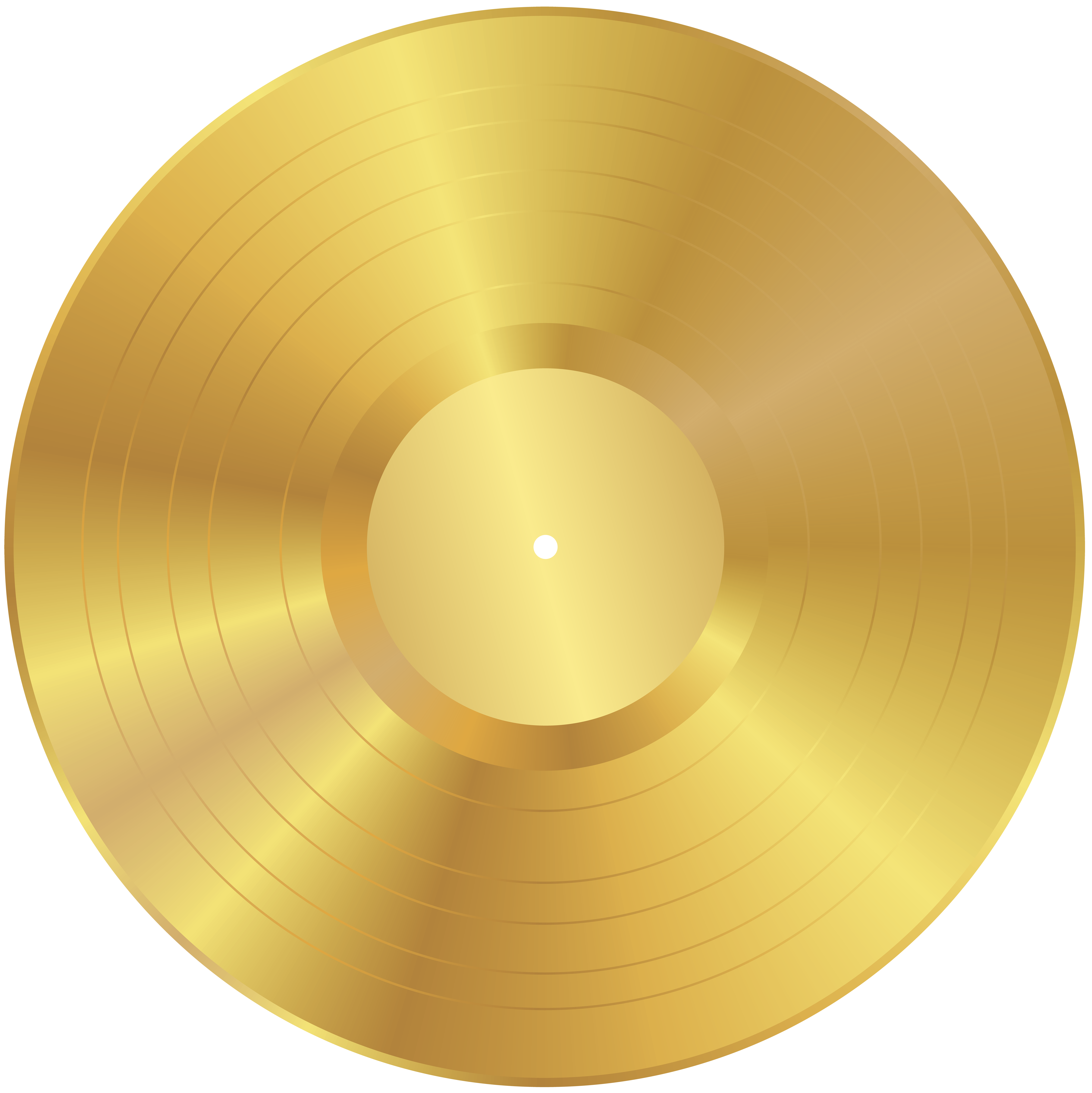 gold music png