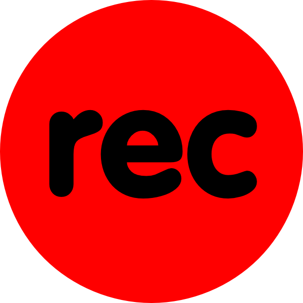 recording sign png