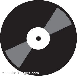 Record clipart vinal. Clip art of a image library stock