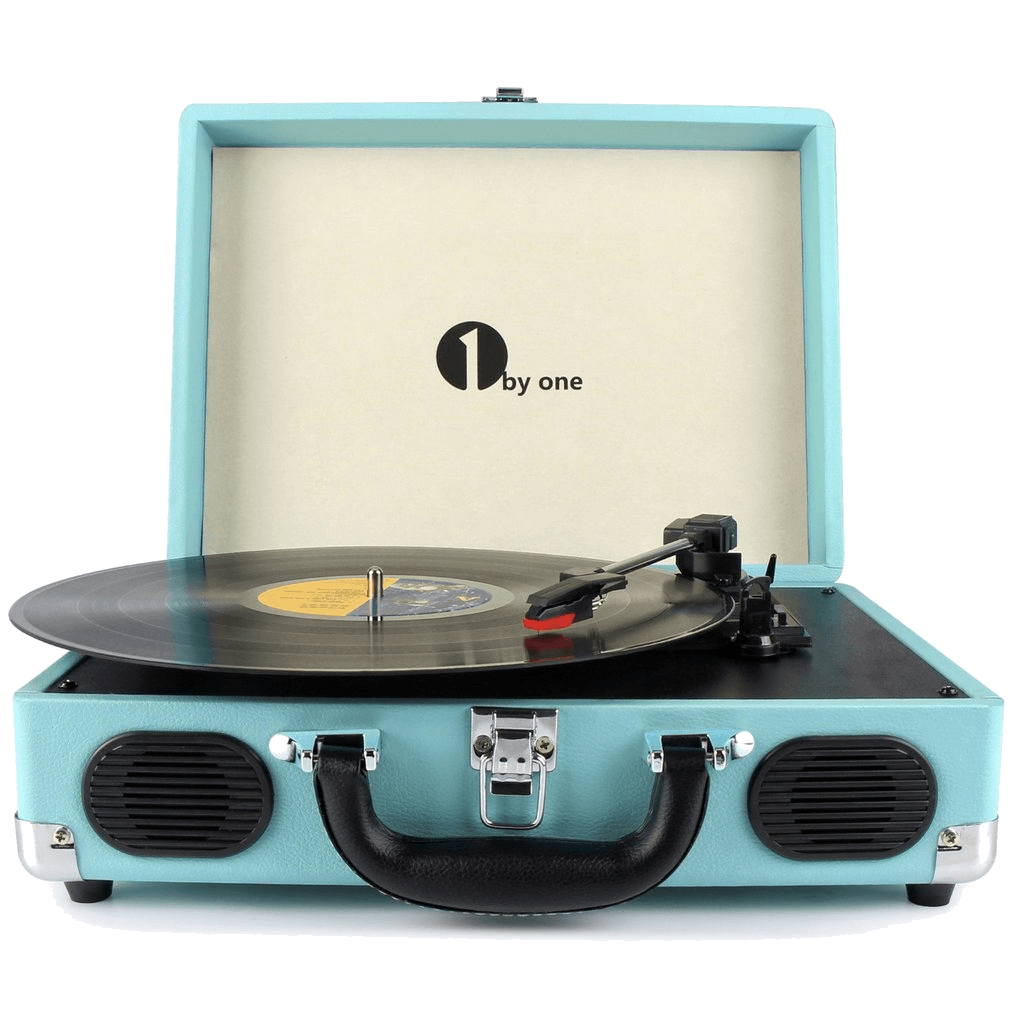 Record player png. Byone portable brand