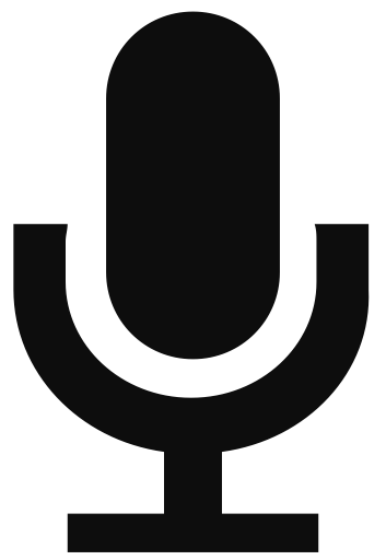 Record vector png. Icons for free mic