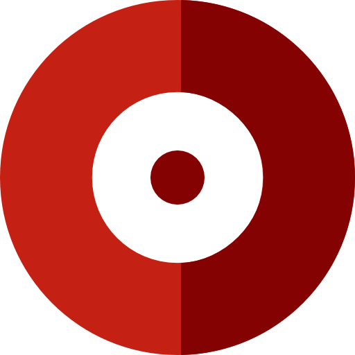 Red recording dot png. Multimedia button record circular