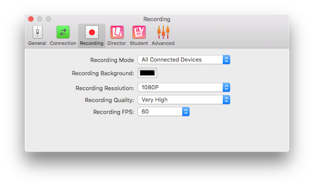 Recording frame transparent png. Reflector mirrored screen settings