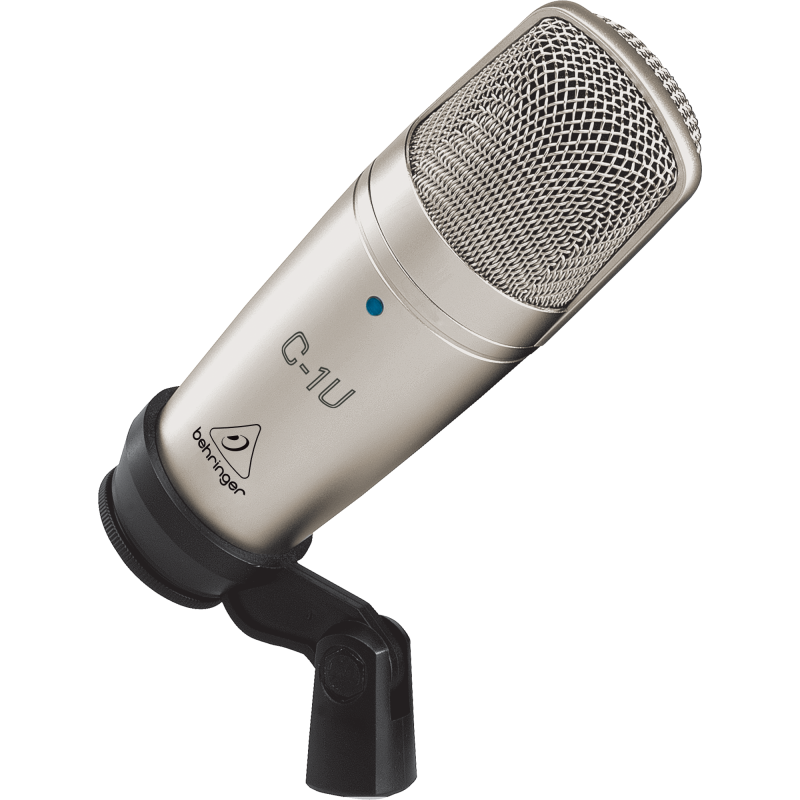 Recording microphone with stand png. Soundsts soundselect behringer c
