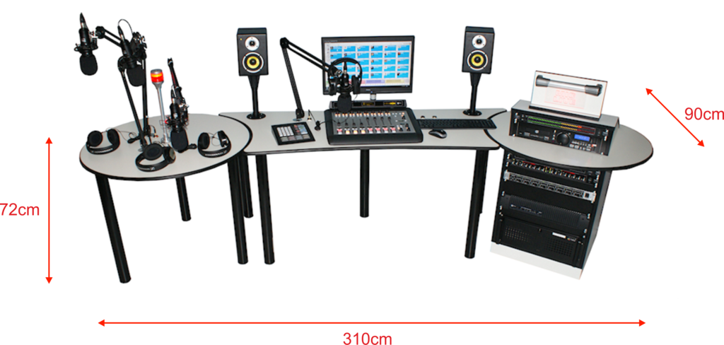 Recording studio light png. School radio sr dimensions