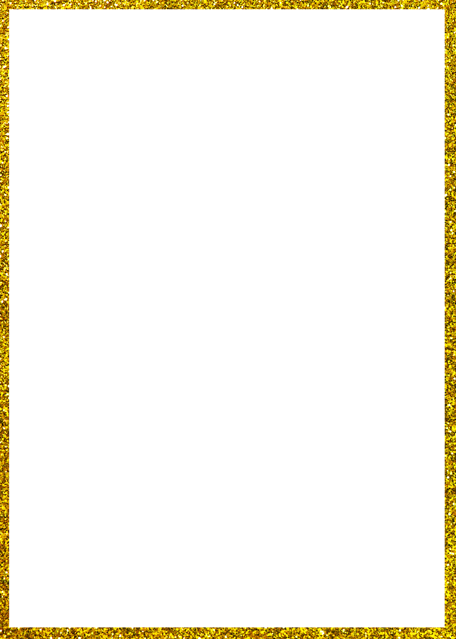 Rectangle border png. Pbl frame gold glitter