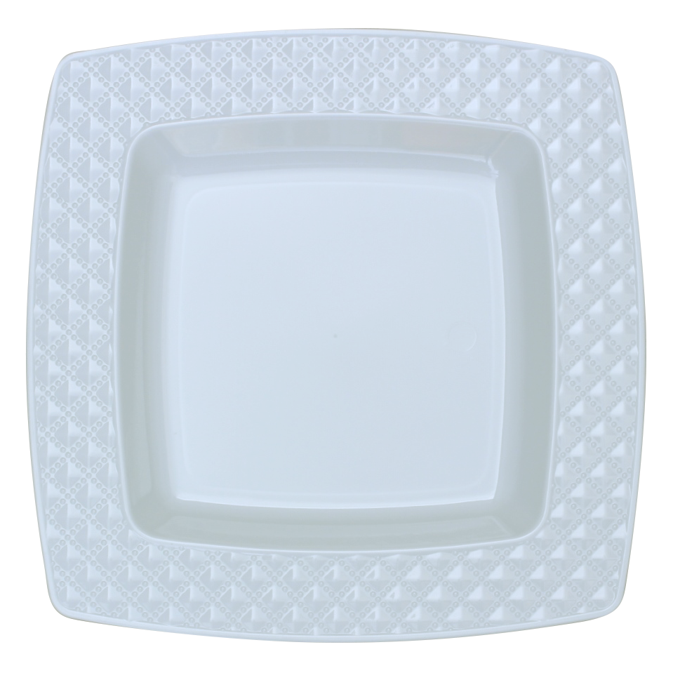 Rectangle dinner plate png. Stunning white and diamond