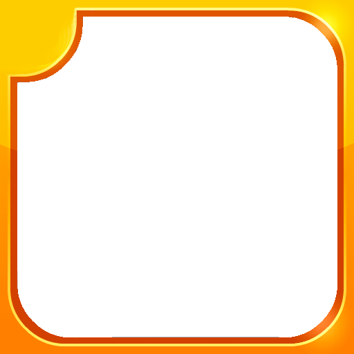 Rectangle geometric border png. Blank by befree on
