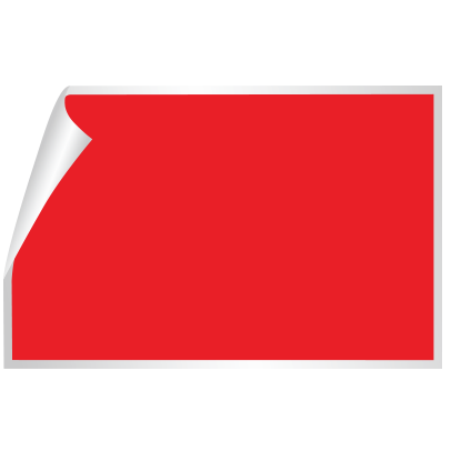 Rectangle sticker png. Stickers die cut printed
