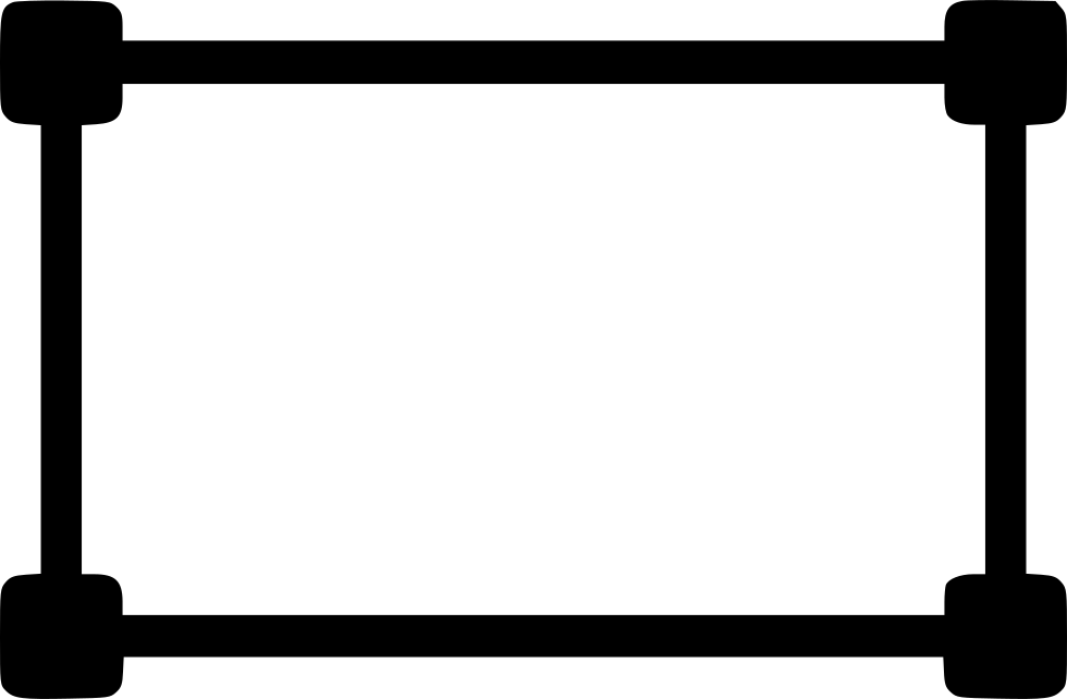 Rectangle with black outline png. Graphic tool shape draw