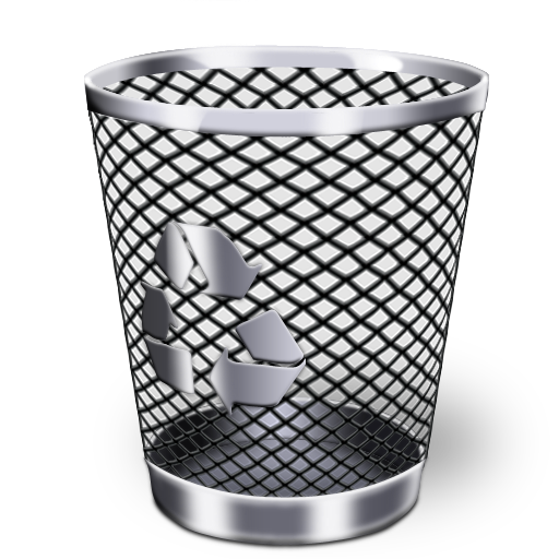 Recycle bin icon png. Iwindows iconset wallec recyclebin