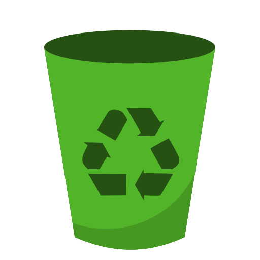 Recycle bin png. System recycling empty icon