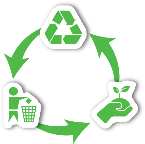 Recycle clipart green team. Rome clean growing one