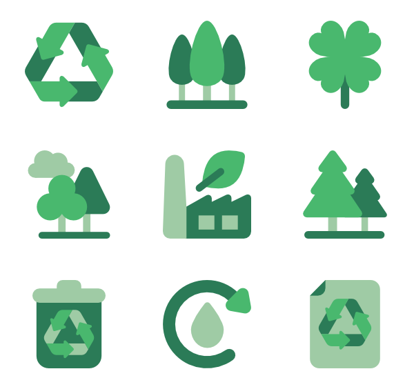 Recycle icon png. Icons free vector recycling