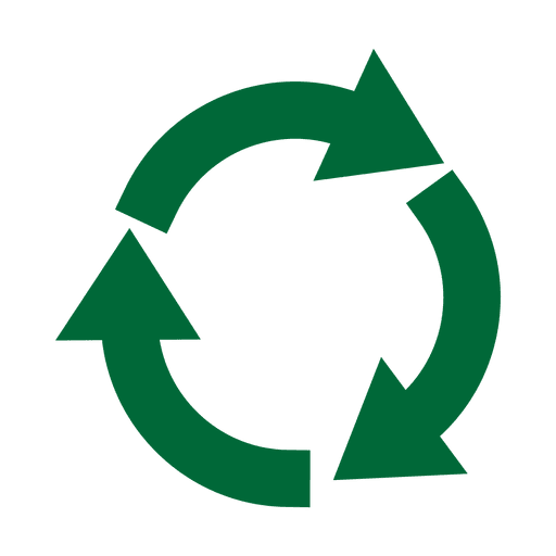 Recycle vector png. Recycling icon circle svg