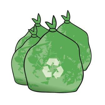 Recycling clipart recycling bag. Cardiff council on twitter
