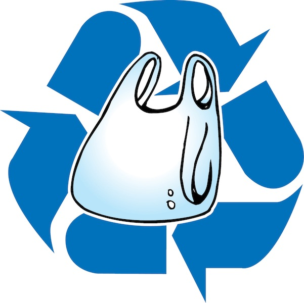 recycling clipart recycling bag