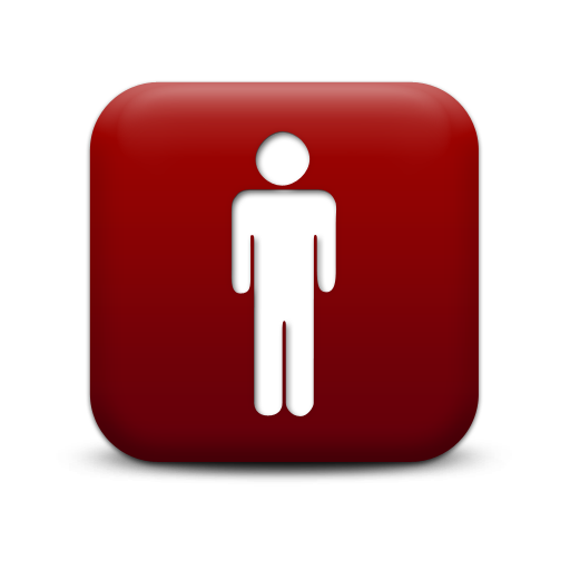Red 2 png. Person icons vector free