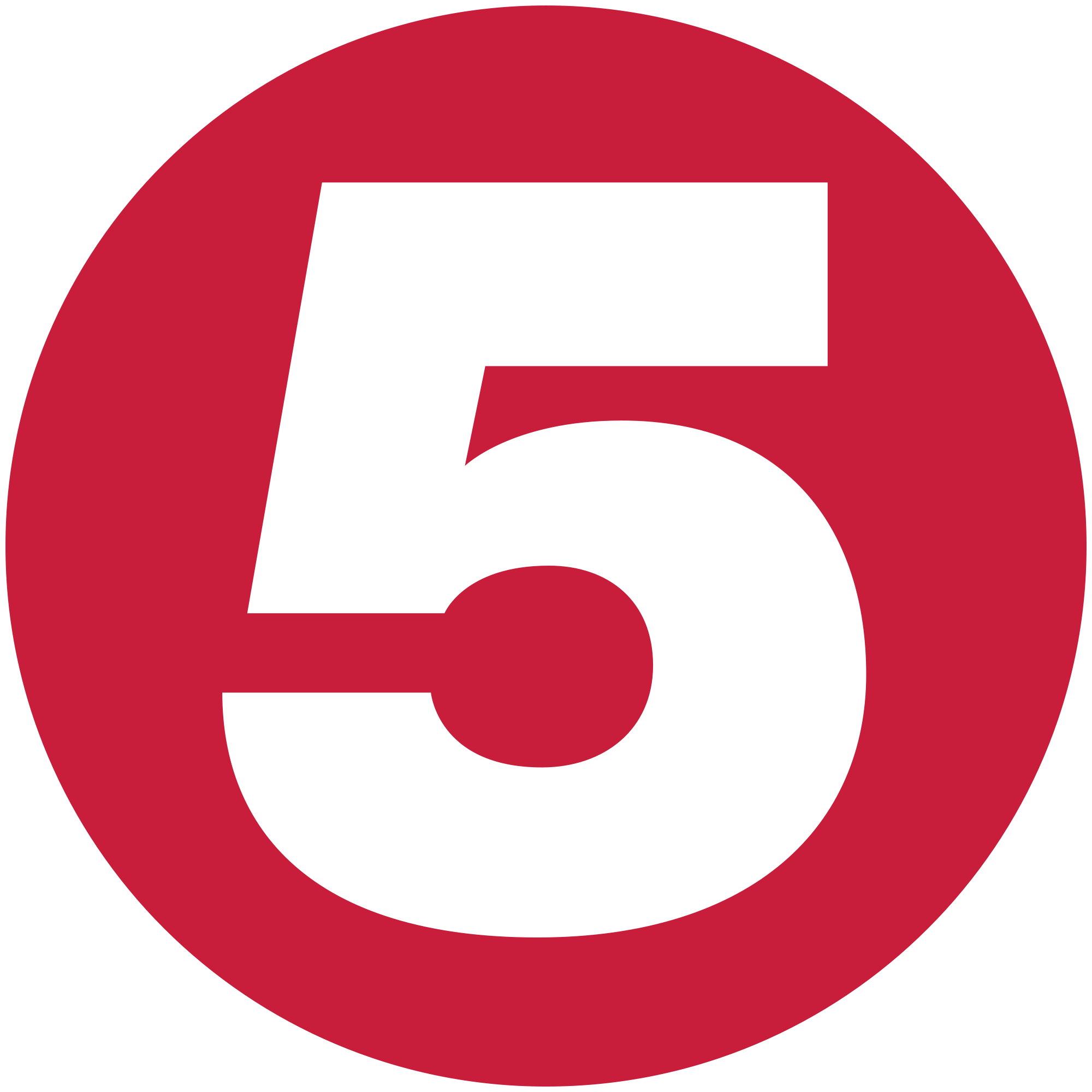 Red 5 png. Image channel logo logopedia