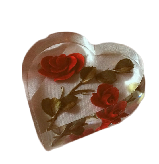 Red aesthetic png. Transparent heart rose edits