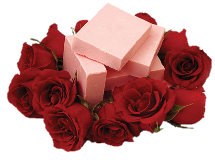 Red aesthetic png. Clean rose goat milk